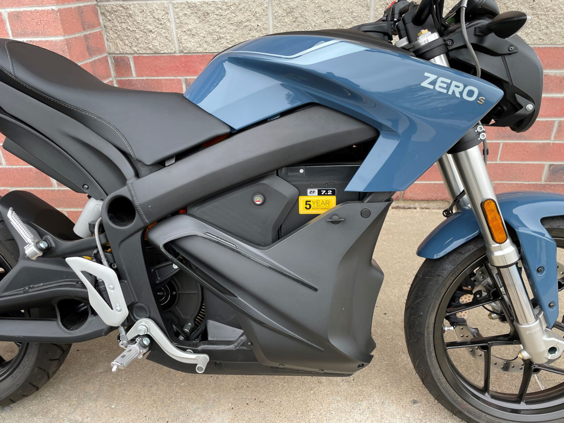 2020 Zero Motorcycles S ZF7.2 + Charge Tank in Muskego, Wisconsin - Photo 5