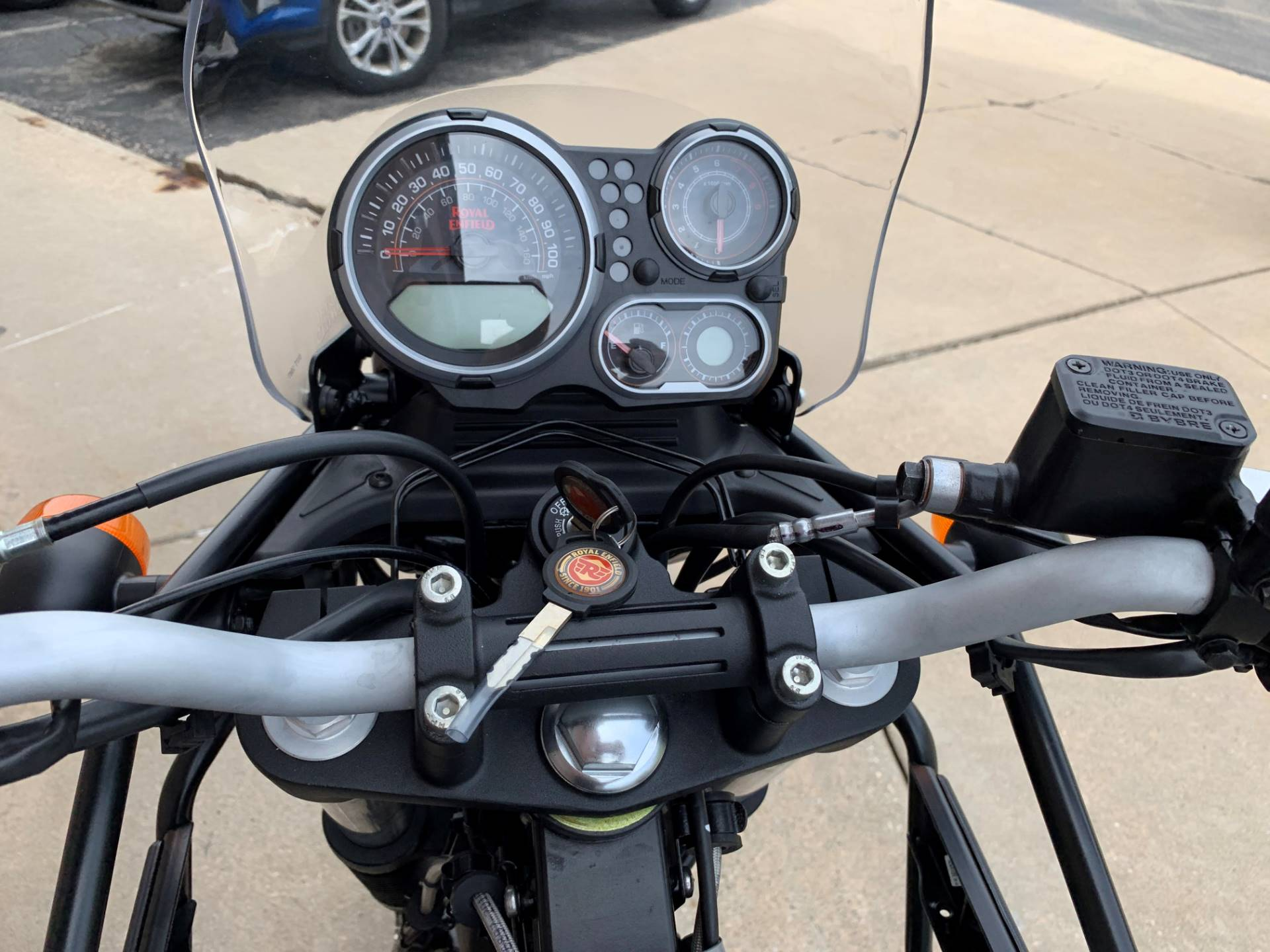 2019 Royal Enfield Himalayan 411 EFI ABS in Muskego, Wisconsin - Photo 9