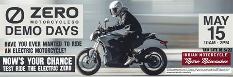 Zero Electric Motorcycle Demo Day-*5/22/Rain Date