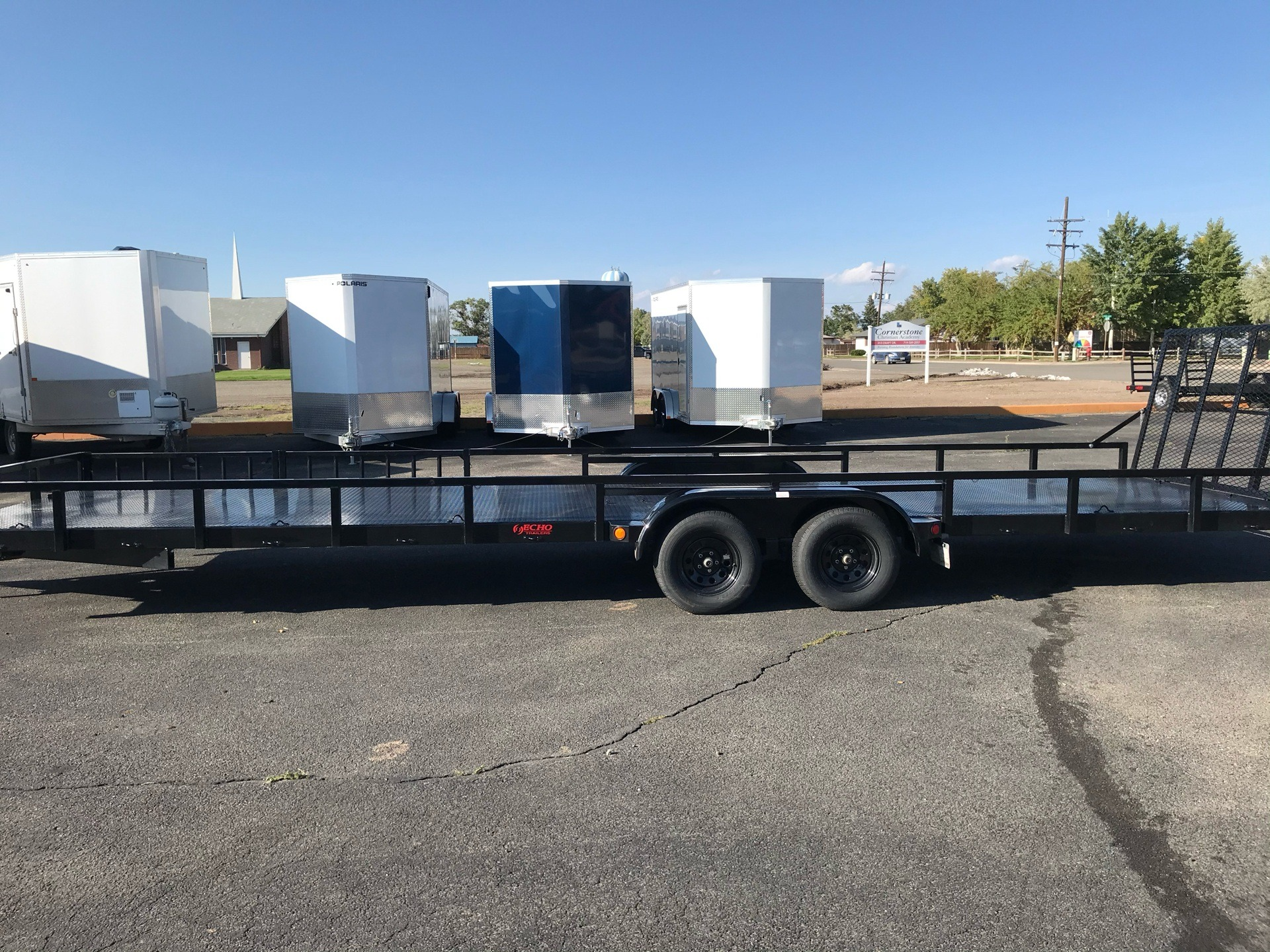 2021 Voyager Trailers ECHO ADVANTAGE 7X28 TANDEM AXLE in Alamosa, Colorado - Photo 2