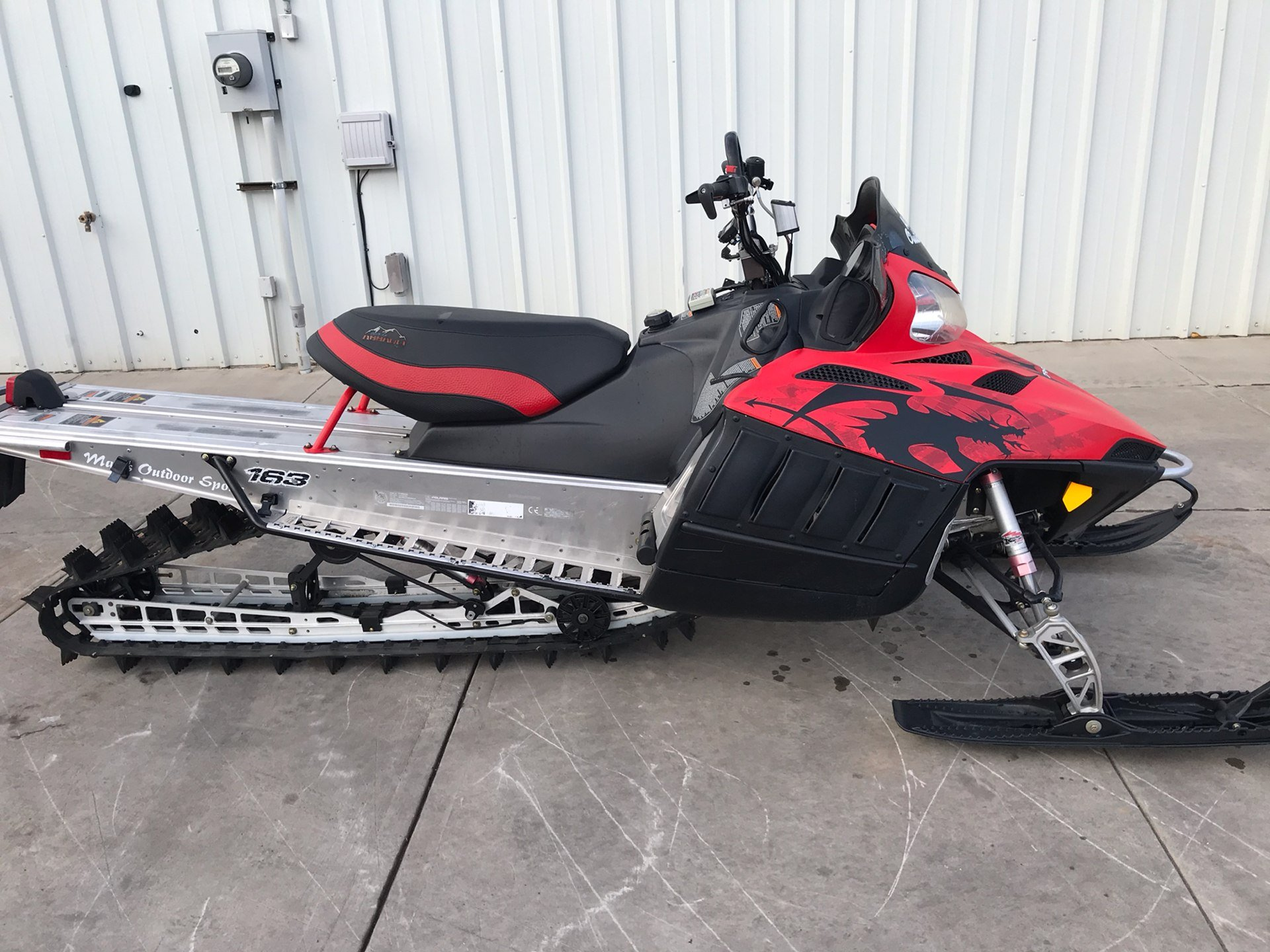 2010 Polaris 800 Dragon RMK 163 in Alamosa, Colorado - Photo 1