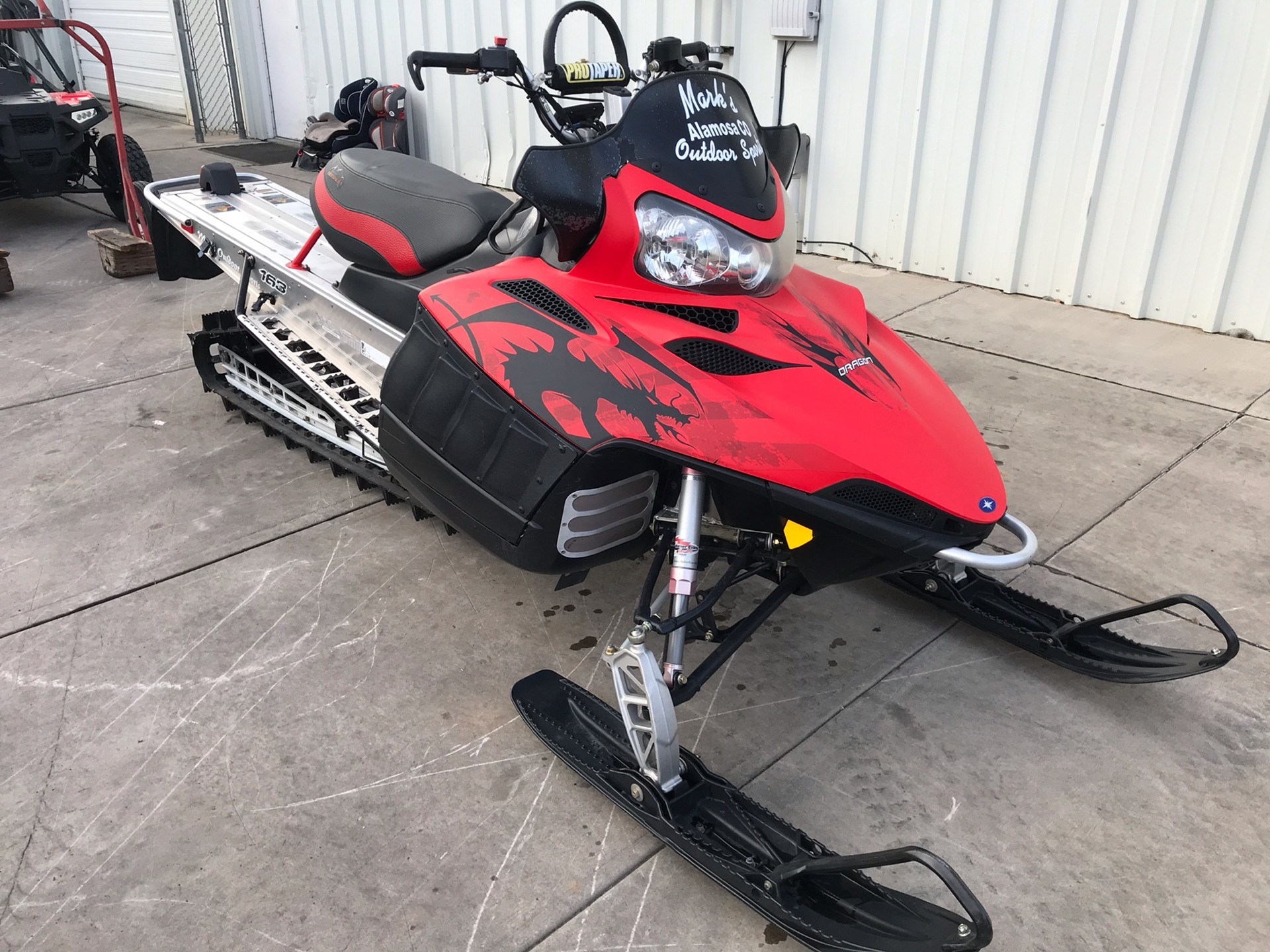 2010 Polaris 800 Dragon RMK 163 in Alamosa, Colorado - Photo 2