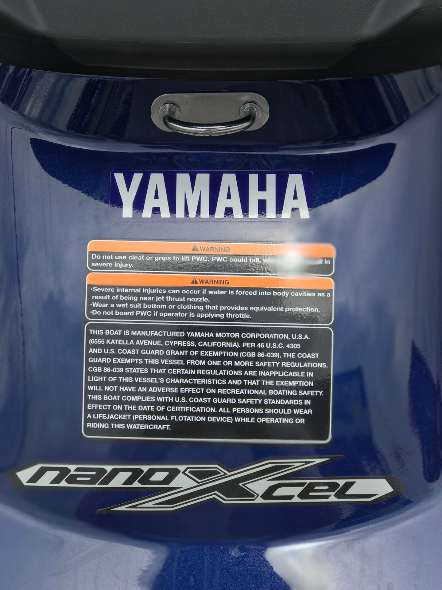2019 Yamaha VX Cruiser HO in Orlando, Florida - Photo 6