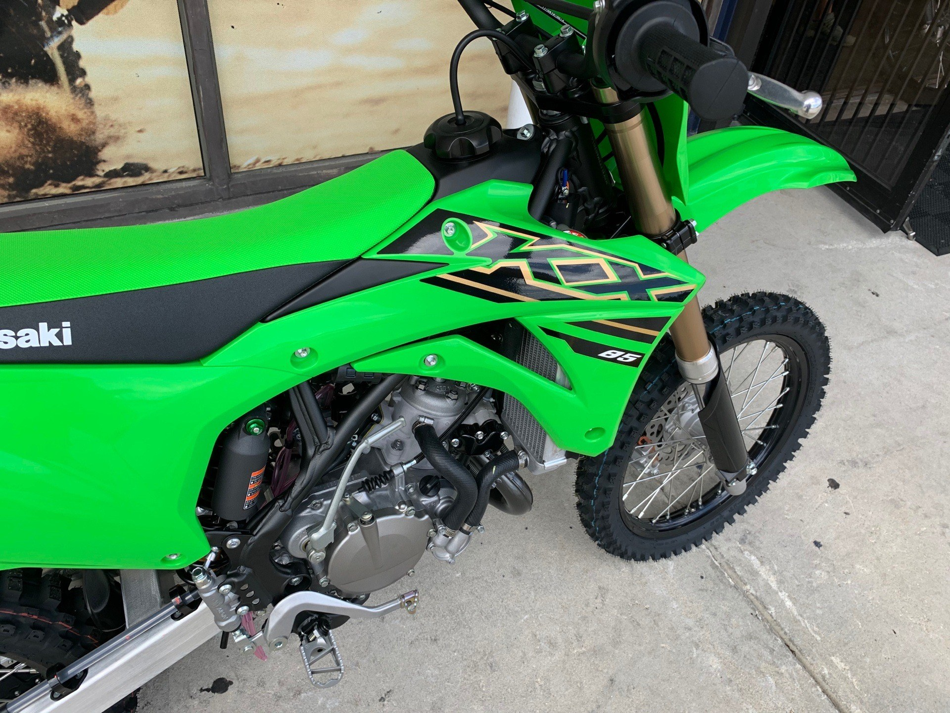 2021 Kawasaki KX 85 in Orlando, Florida - Photo 5