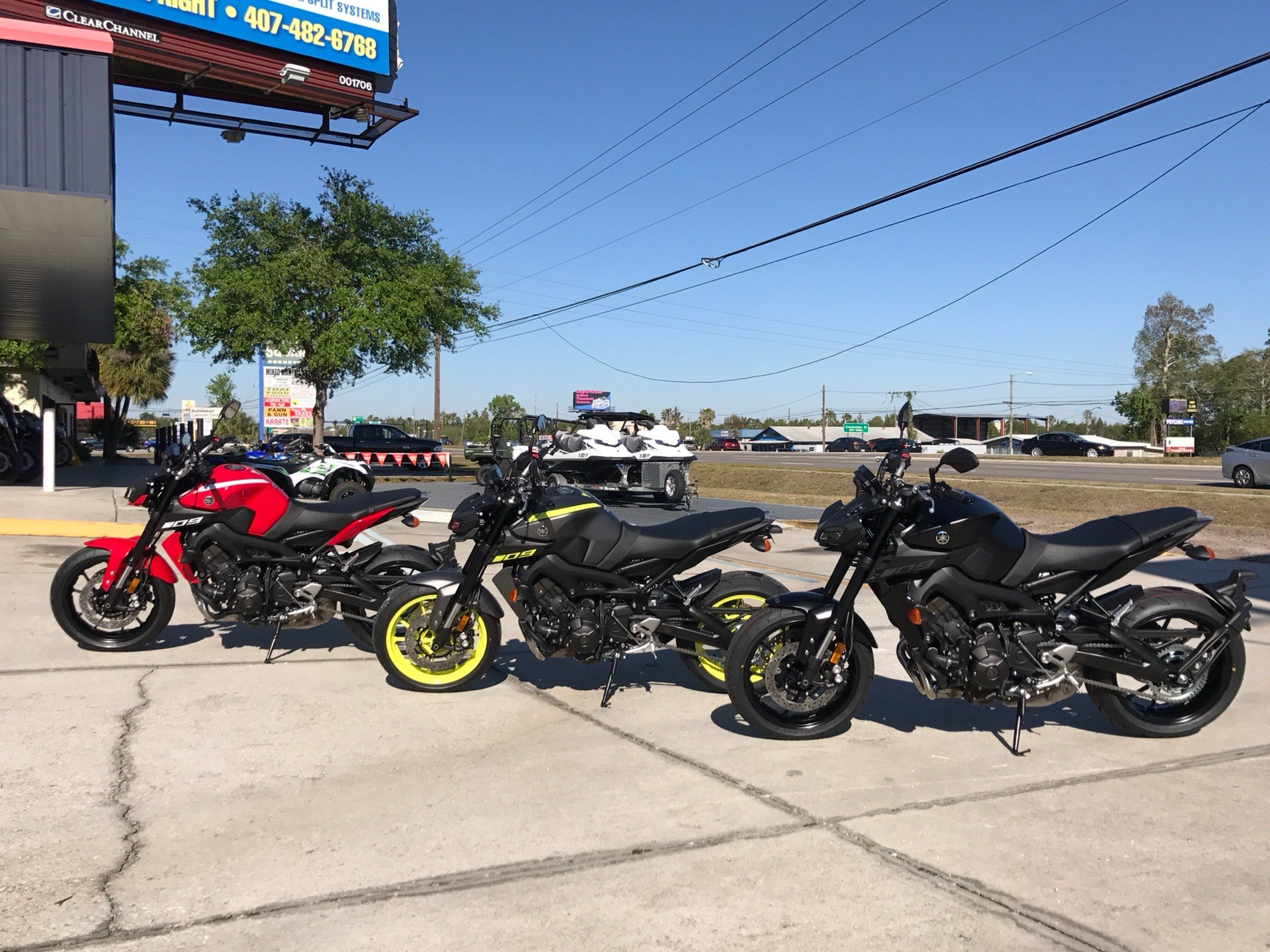 2018 Yamaha MT-09 in Orlando, Florida - Photo 17