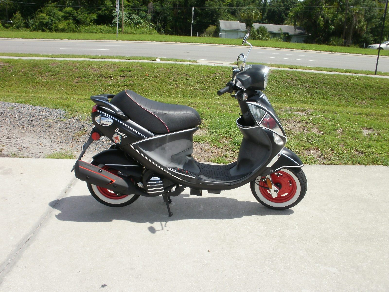 2009 Genuine Scooters Buddy Black Jack 150 in Orlando, Florida