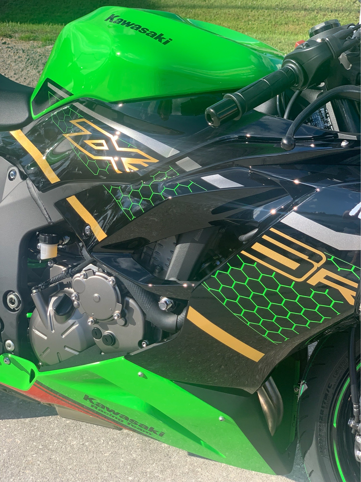 2020 Kawasaki Ninja ZX-6R ABS KRT Edition in Orlando, Florida - Photo 9