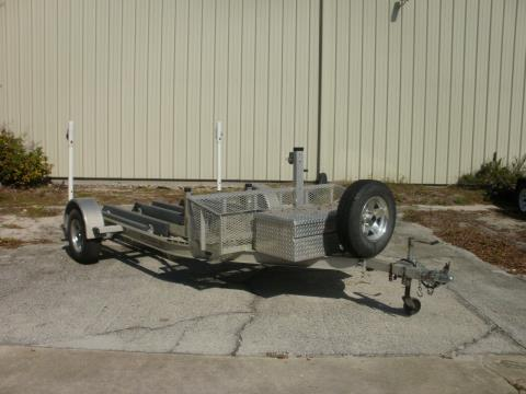 2008 B & S TRAILERS TRIPLE STAND UP in Orlando, Florida