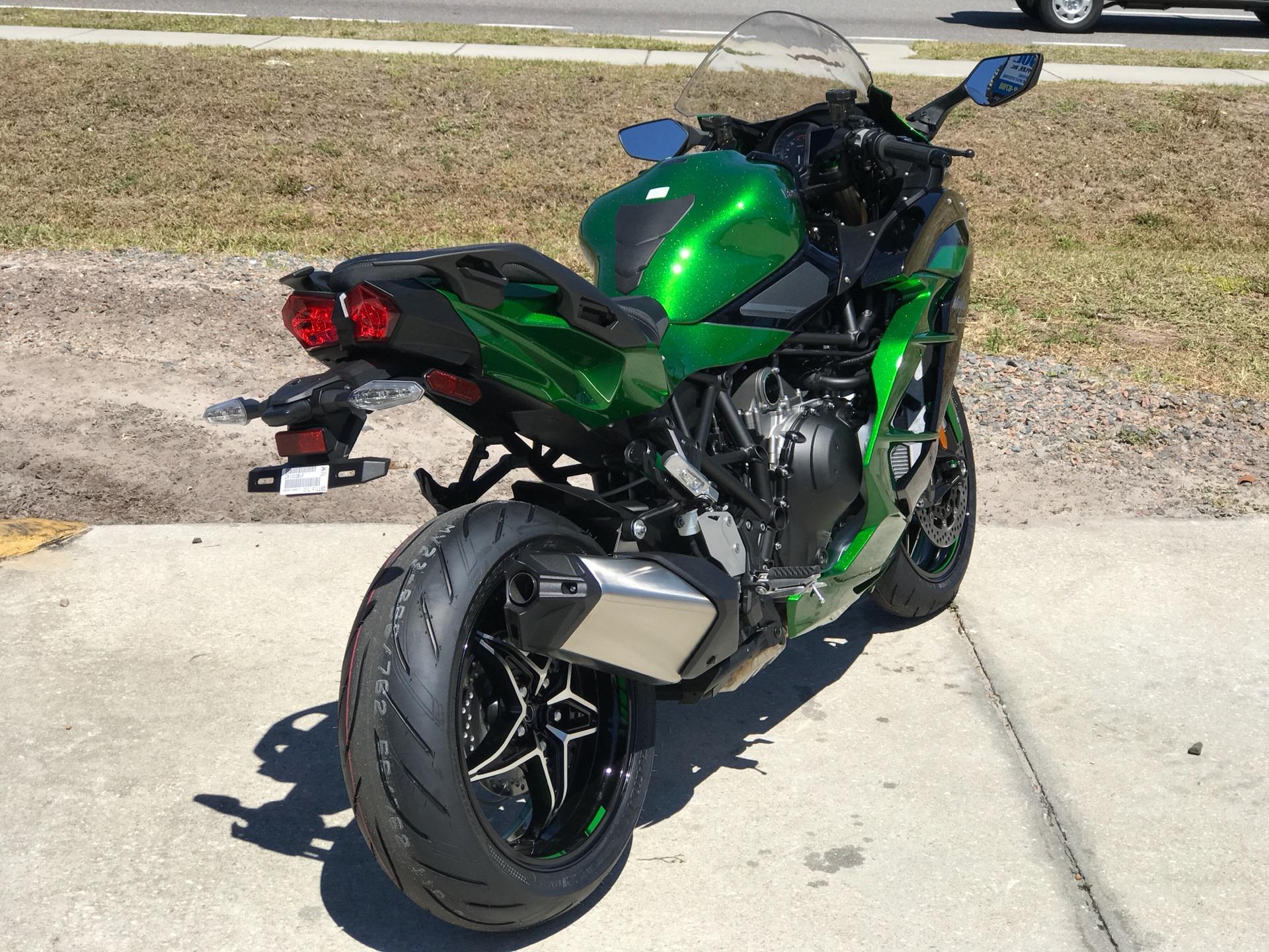 2018 Kawasaki Ninja H2 Sx Se Motorcycles Orlando Florida H2sxse