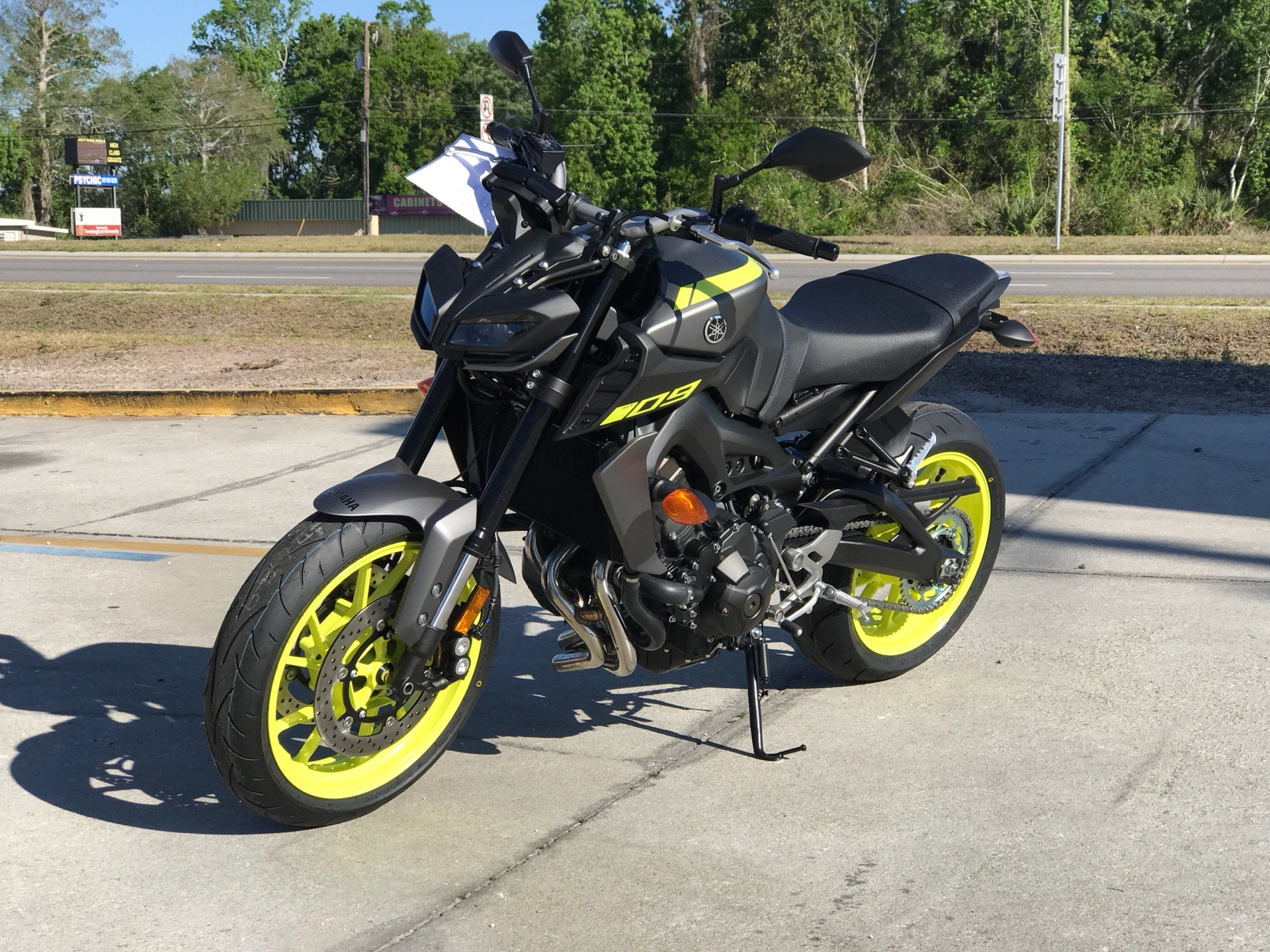 yamaha mt 09  2018 Yamaha MT-09 Motorcycles Orlando Florida NEWMT