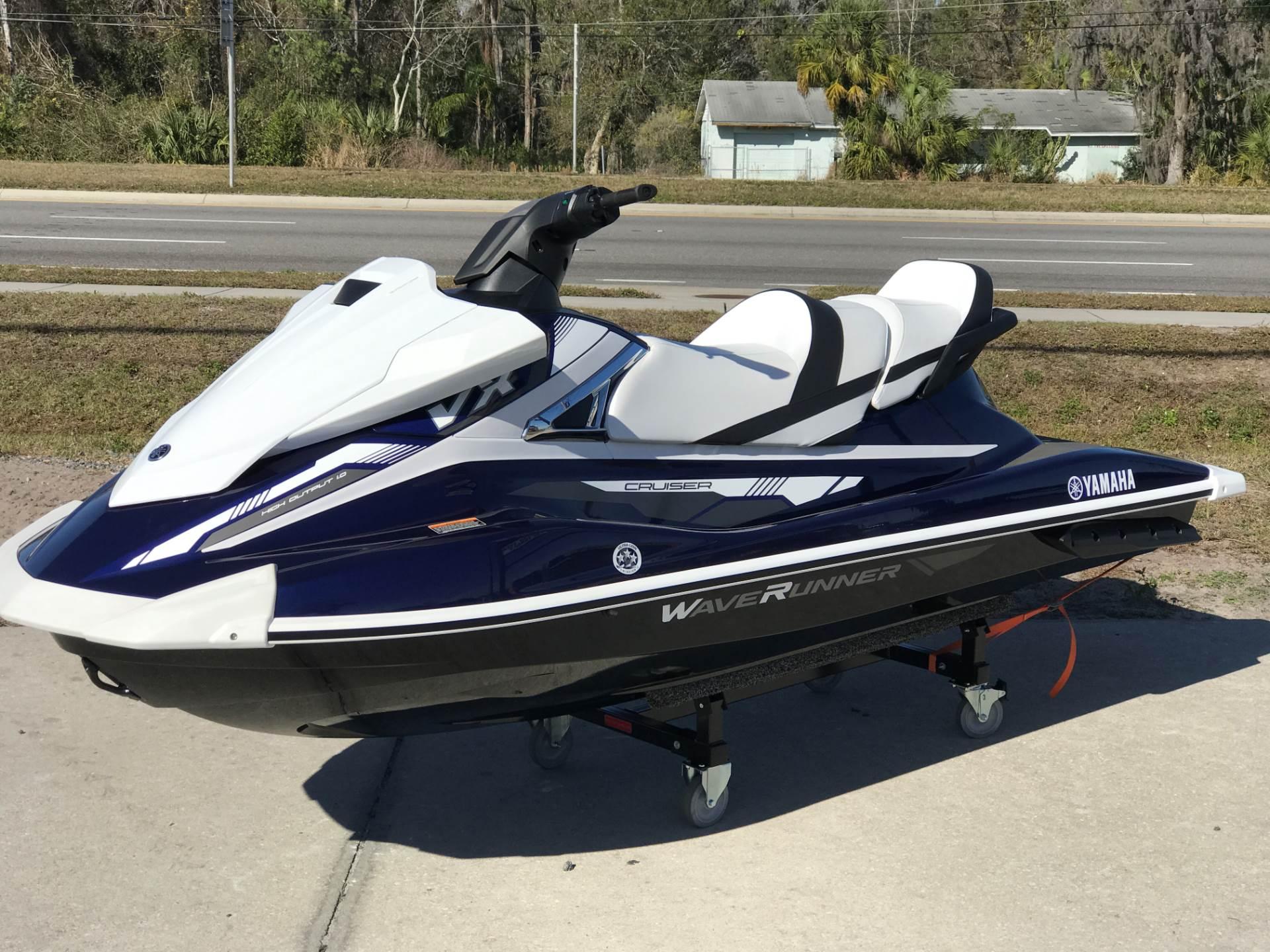 2018 Yamaha VX Cruiser Watercraft Orlando Florida N A