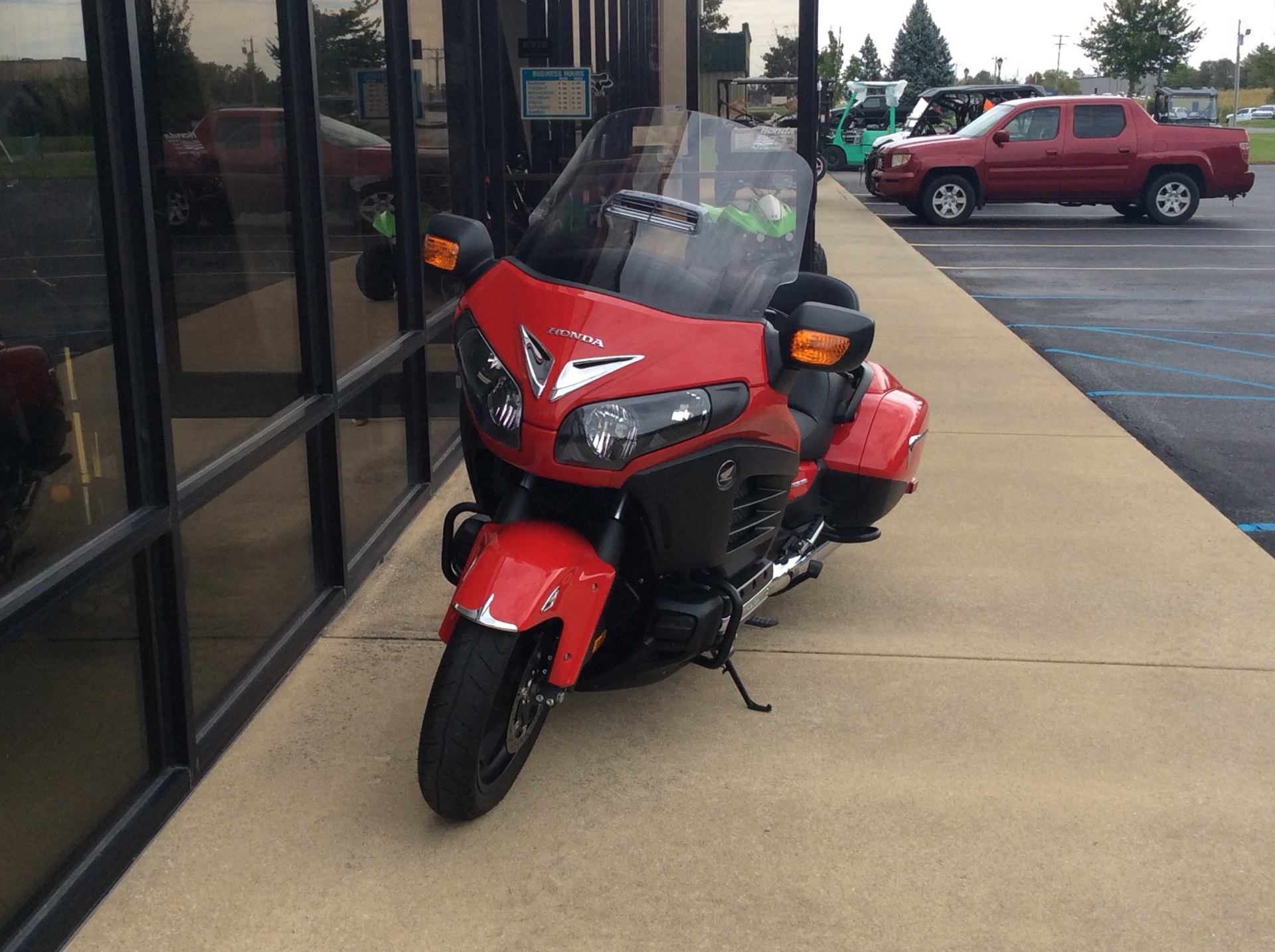 2013 Honda Gold Wing® F6B Deluxe in Greensburg, Indiana