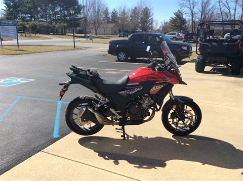 2017 Honda CB500X ABS in Greensburg, Indiana