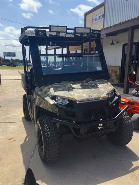 2014 Polaris Ranger® EV Polaris Pursuit® Camo in Cedar Creek, Texas