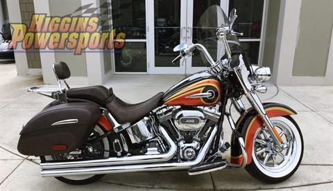 2014 Harley-Davidson CVO™ Softail® Deluxe in Barre, Massachusetts