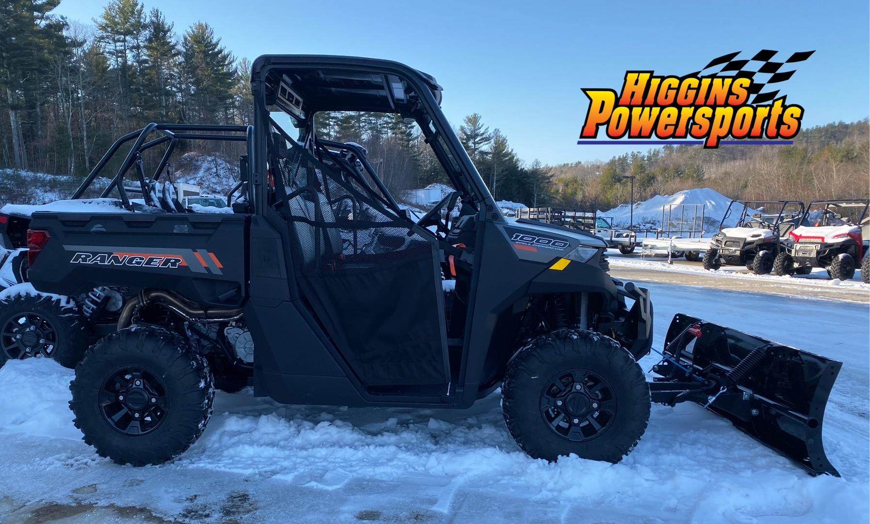 2020 Polaris Ranger 1000 Premium Winter Prep Package in Barre, Massachusetts - Photo 5