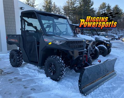 2020 Polaris Ranger 1000 Premium Winter Prep Package in Barre, Massachusetts - Photo 1