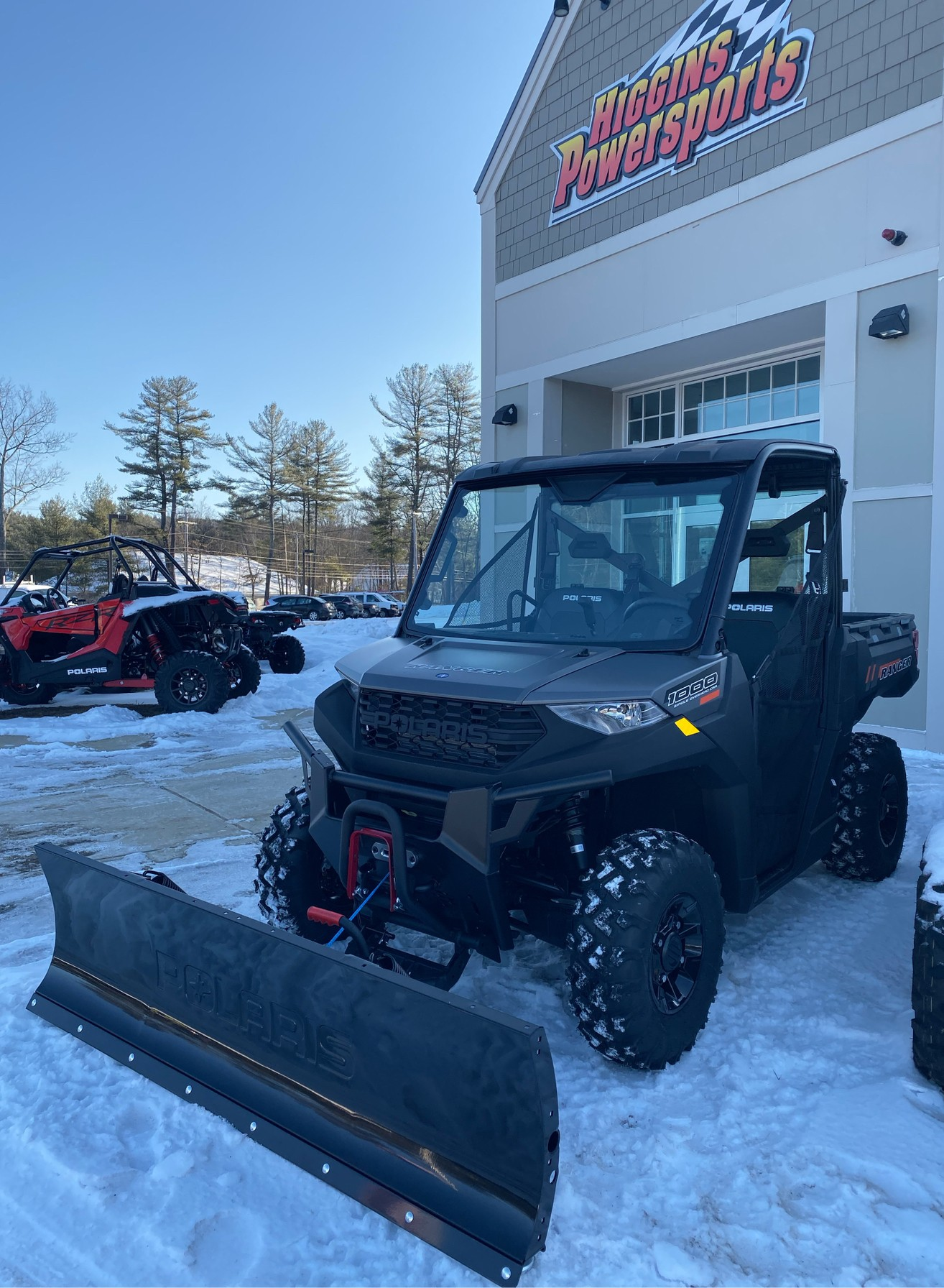 2020 Polaris Ranger 1000 Premium Winter Prep Package in Barre, Massachusetts - Photo 3