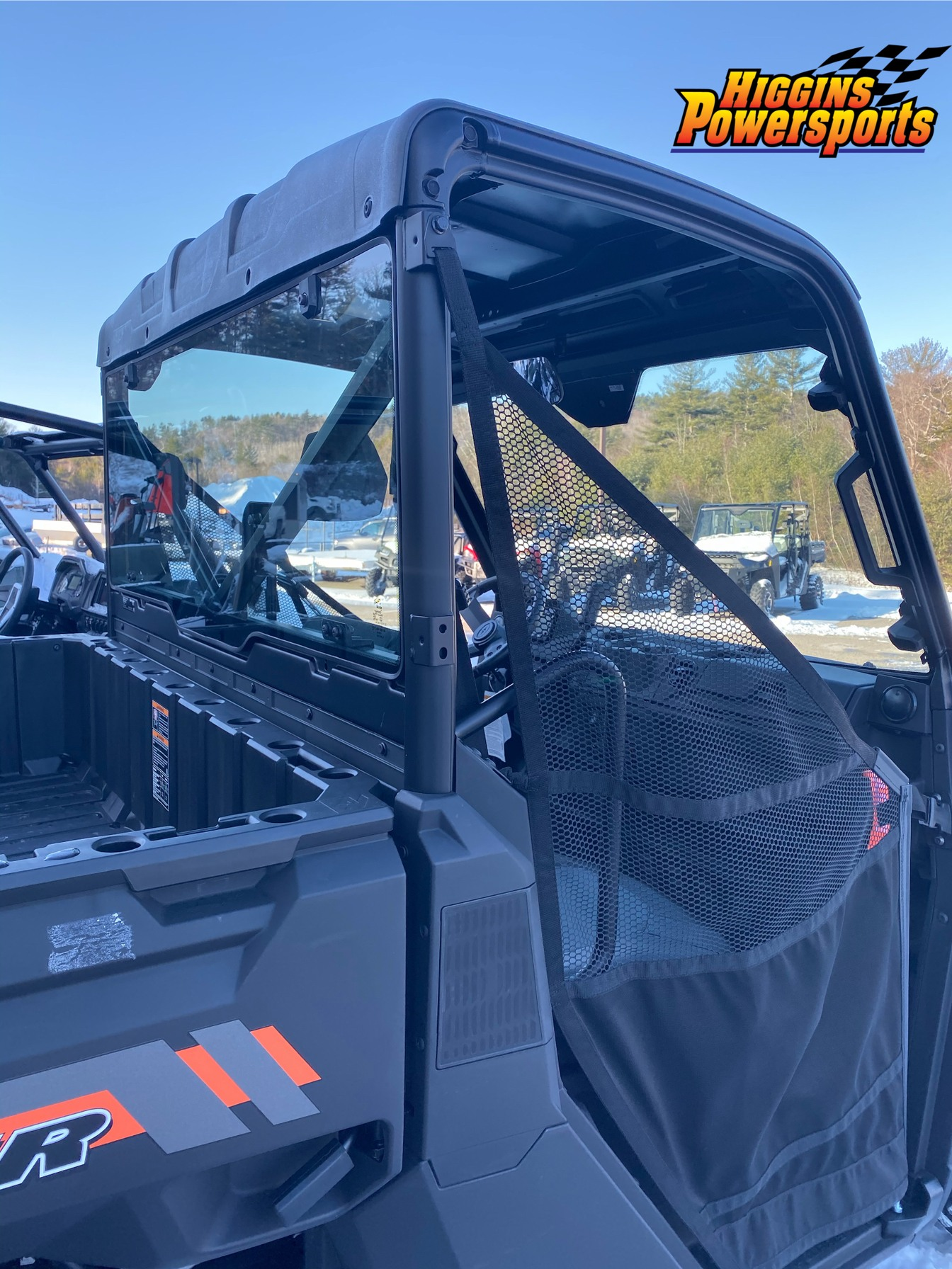 2020 Polaris Ranger 1000 Premium Winter Prep Package in Barre, Massachusetts - Photo 6