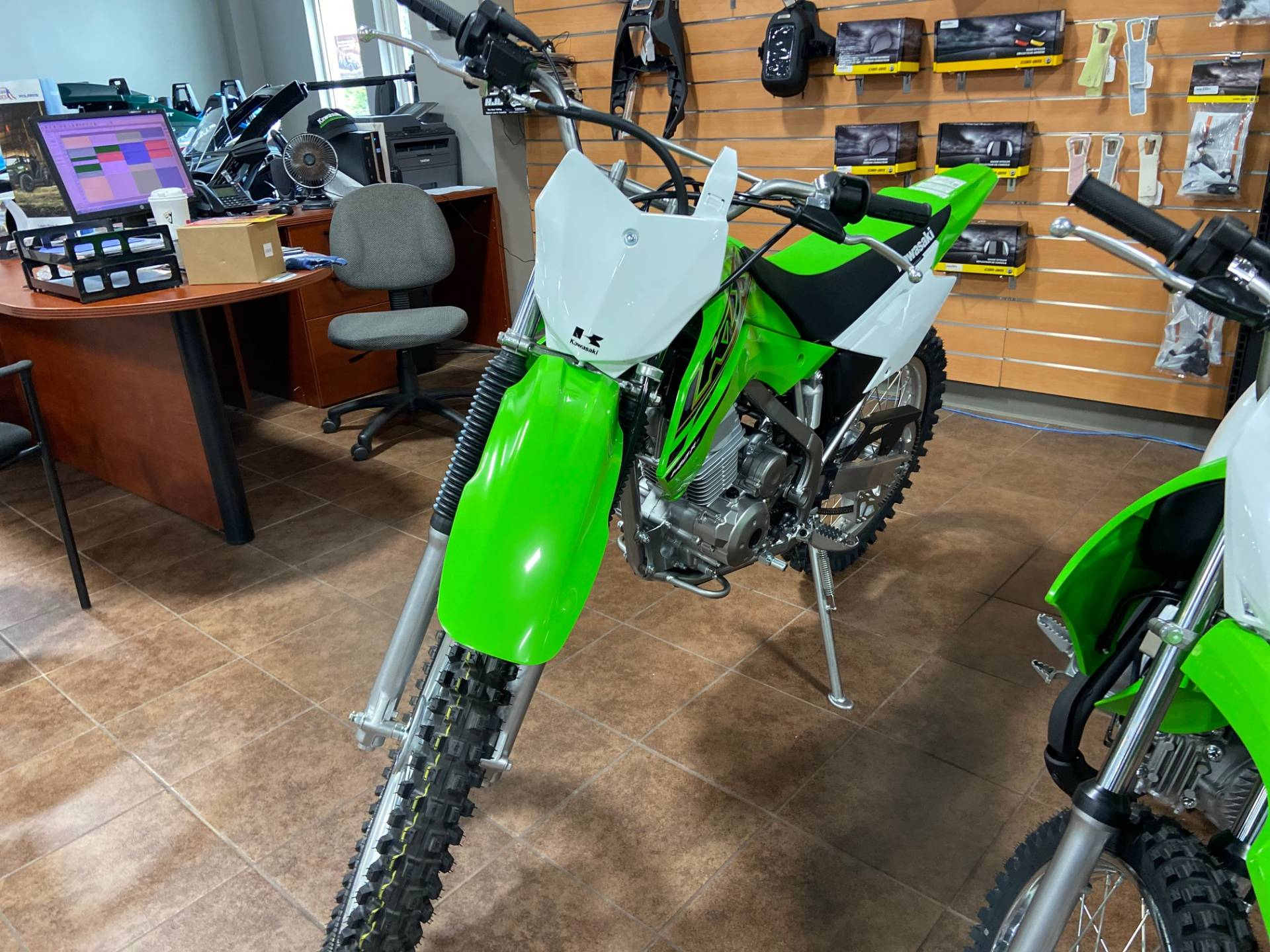 2021 Kawasaki KLX 140R F in Barre, Massachusetts - Photo 2