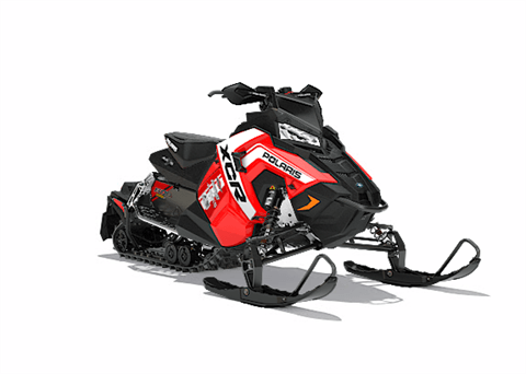 2018 Polaris 800 RUSH XCR SnowCheck Select in Barre, Massachusetts