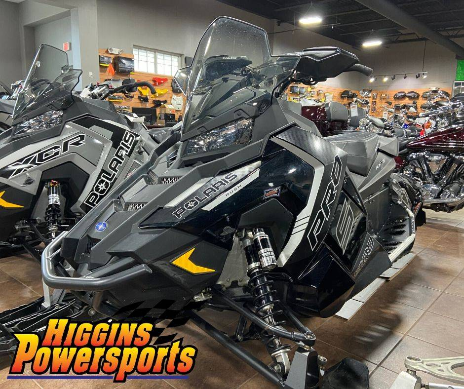 2016 Polaris 800 RUSH PRO-S LE in Barre, Massachusetts - Photo 1