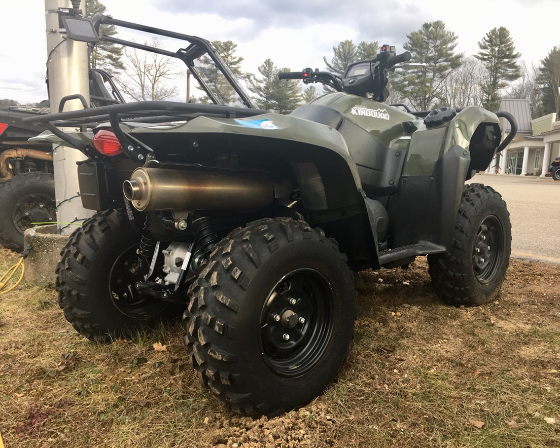 2018 Suzuki KingQuad 750AXi in Barre, Massachusetts
