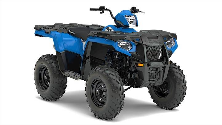2017 Polaris SPORTSMAN 570 VEL BLUE in Barre, Massachusetts