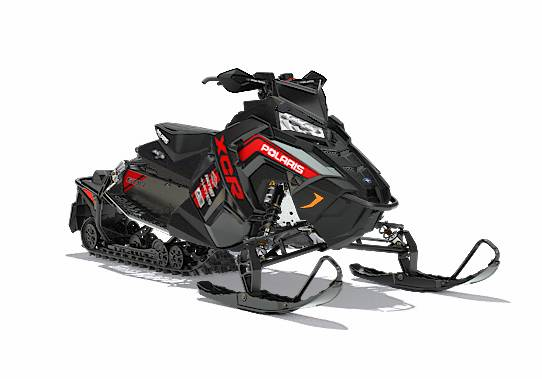 2018 Polaris 600 SWITCHBACK XCR SC BLK in Barre, Massachusetts