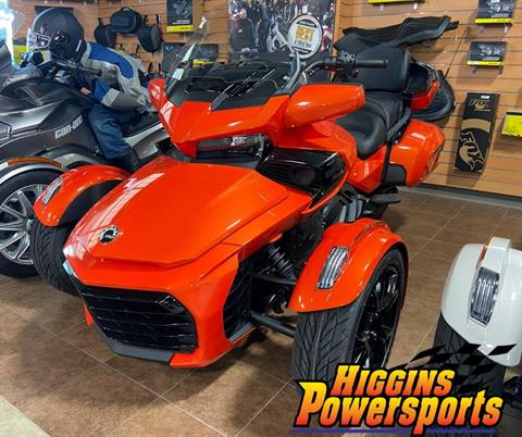 2020 Can-Am Spyder F3 Limited in Barre, Massachusetts - Photo 1