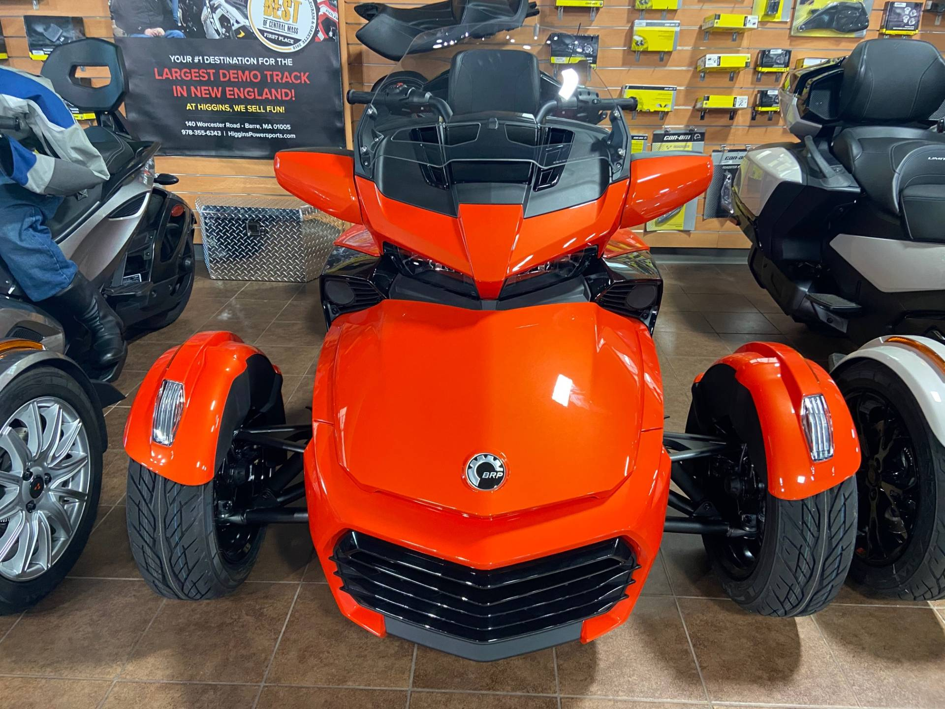 2020 Can-Am Spyder F3 Limited in Barre, Massachusetts - Photo 4