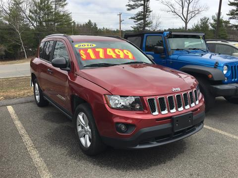 2016 Jeep Compass in Barre, Massachusetts