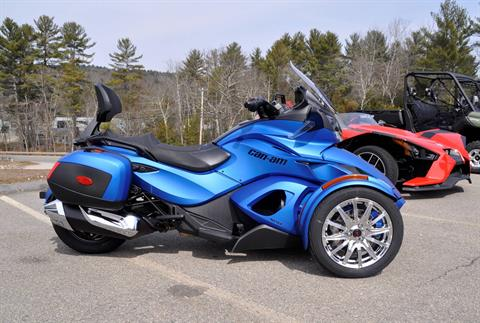2015 Can-Am Spyder® ST Limited in Barre, Massachusetts