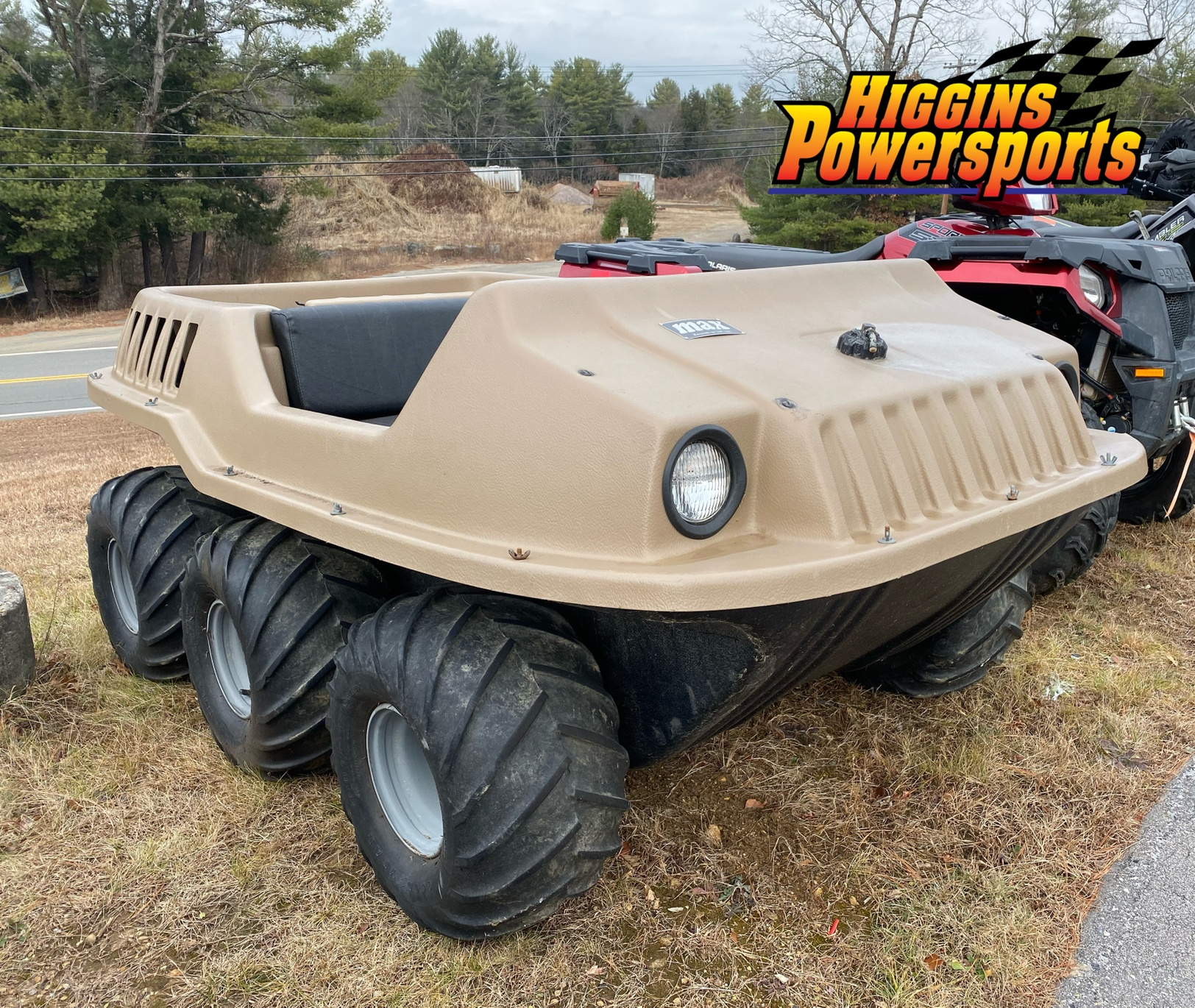 MAX MAX 2 6x6 Amphibious ATV in Barre, Massachusetts - Photo 1
