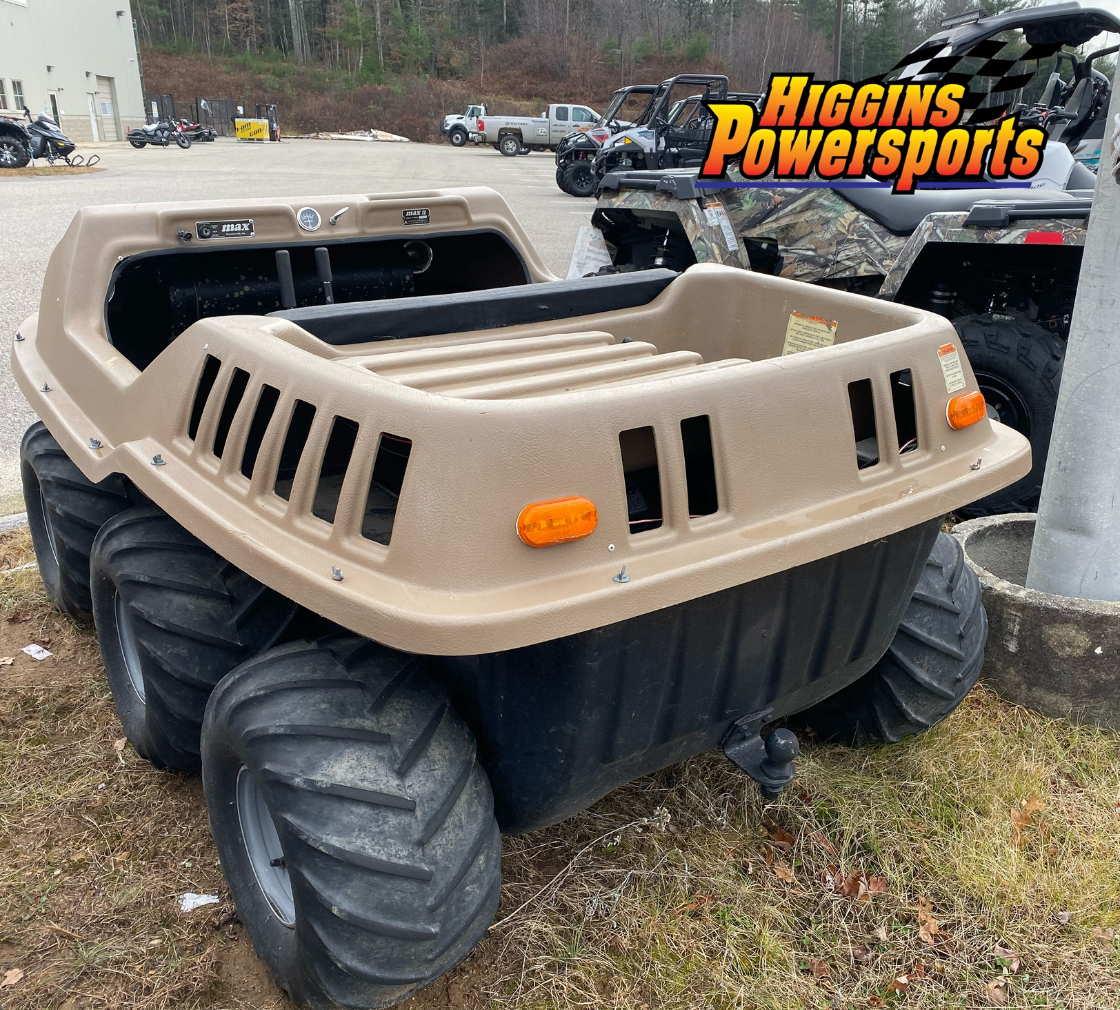 MAX MAX 2 6x6 Amphibious ATV in Barre, Massachusetts - Photo 4