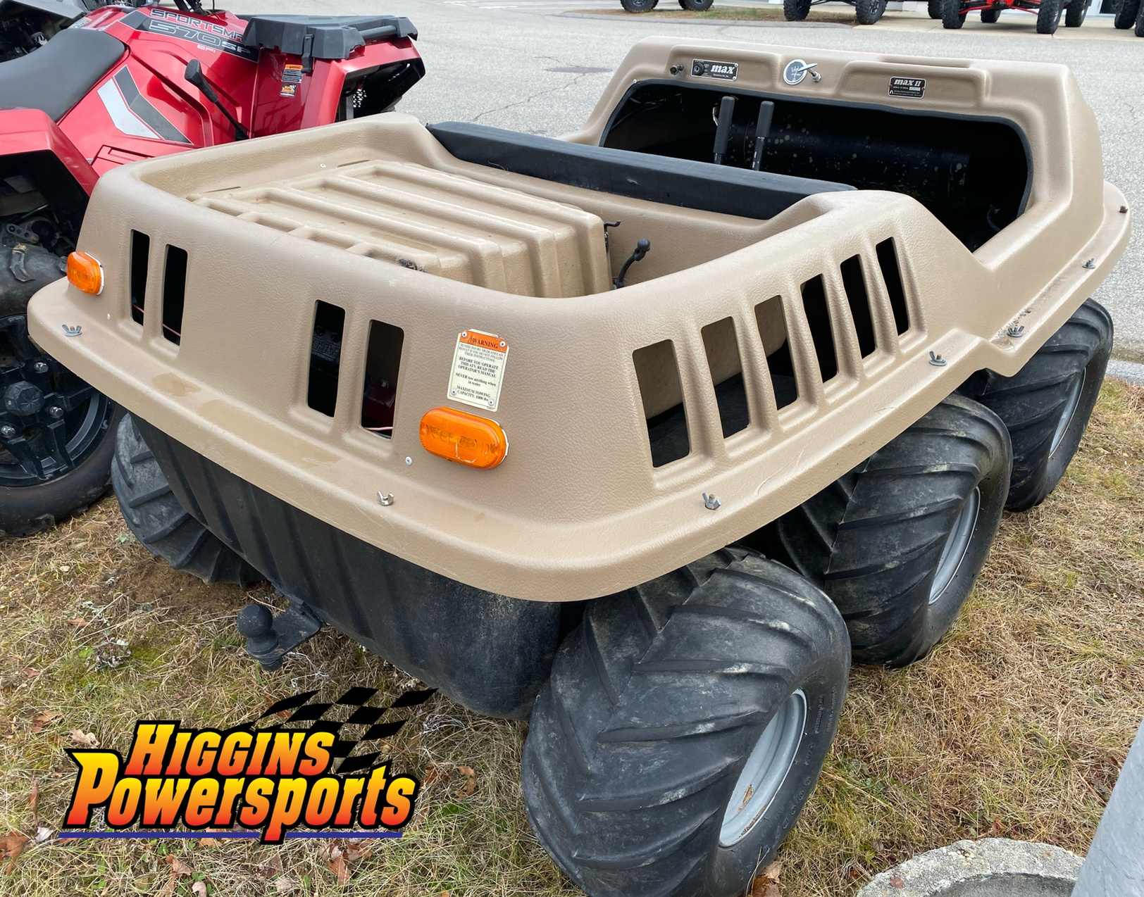 MAX MAX 2 6x6 Amphibious ATV in Barre, Massachusetts - Photo 5