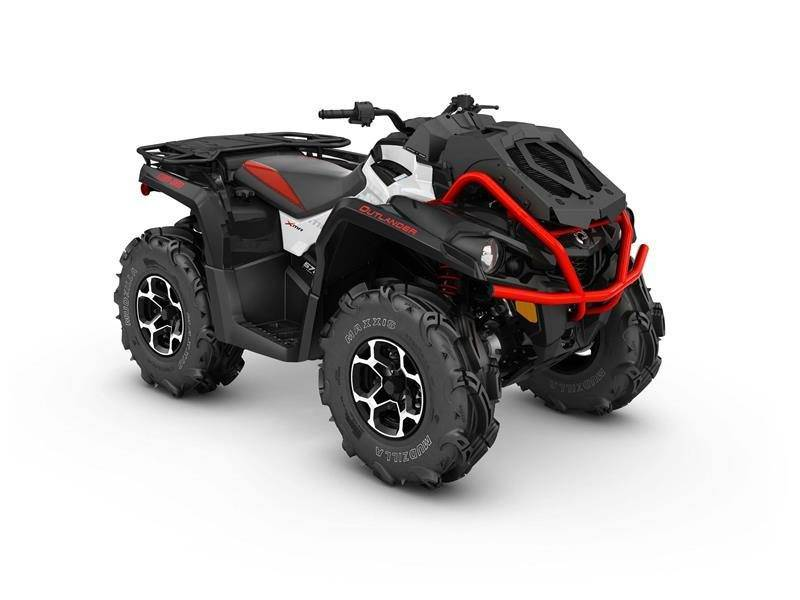 2017 Can-Am OUTLANDER XMR 570 EFI in Barre, Massachusetts