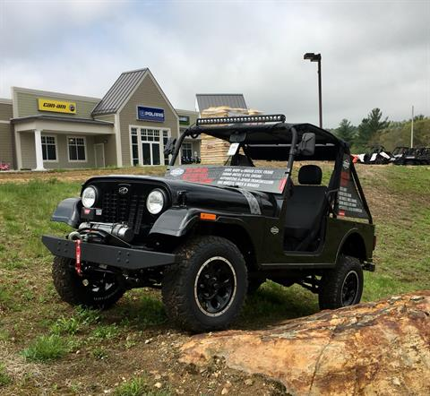 2018 Mahindra Roxor Limited Edition in Barre, Massachusetts