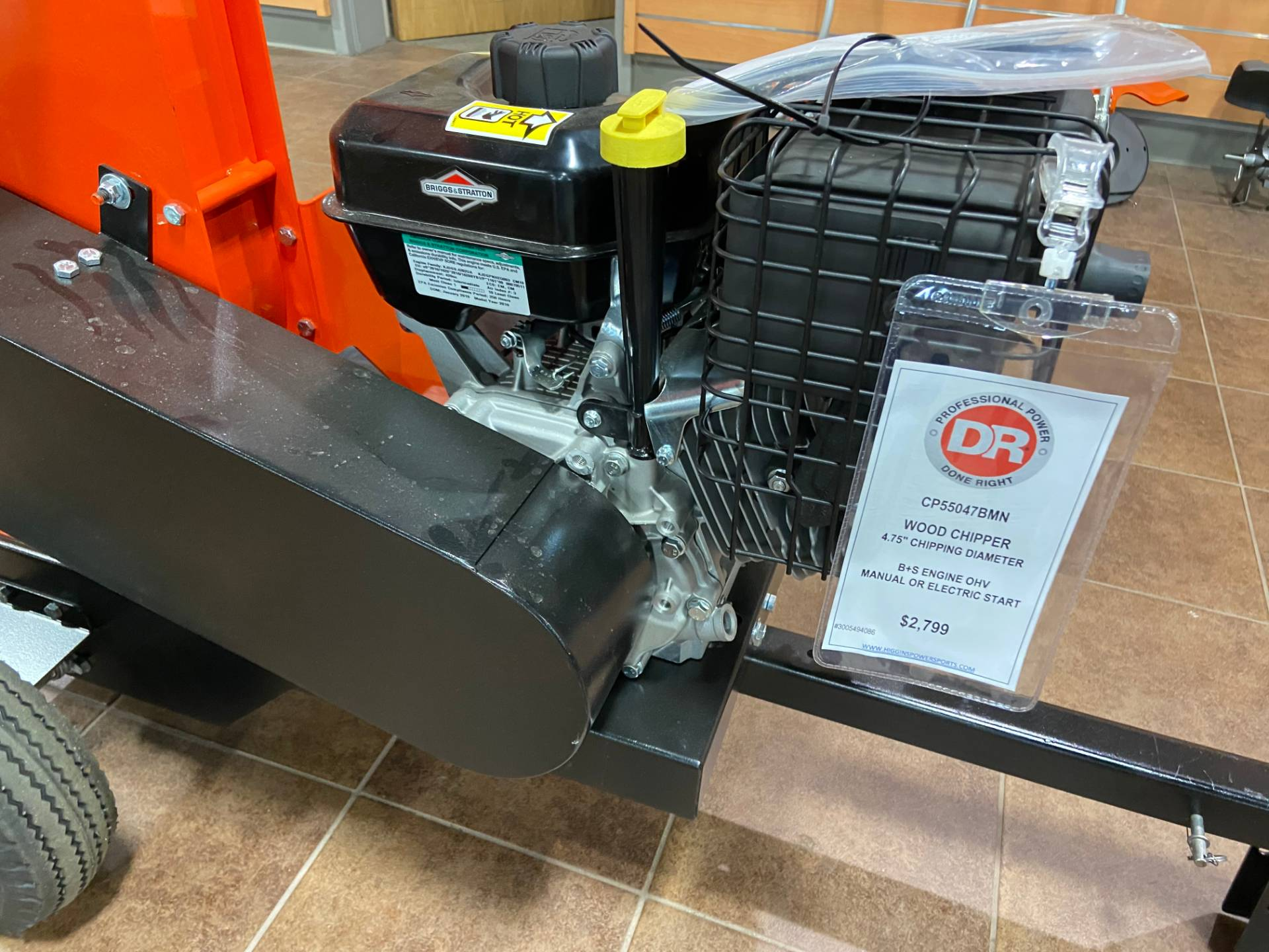 DR Power Equipment 11.5 HP Pro 475 Wood Chipper in Barre, Massachusetts - Photo 9