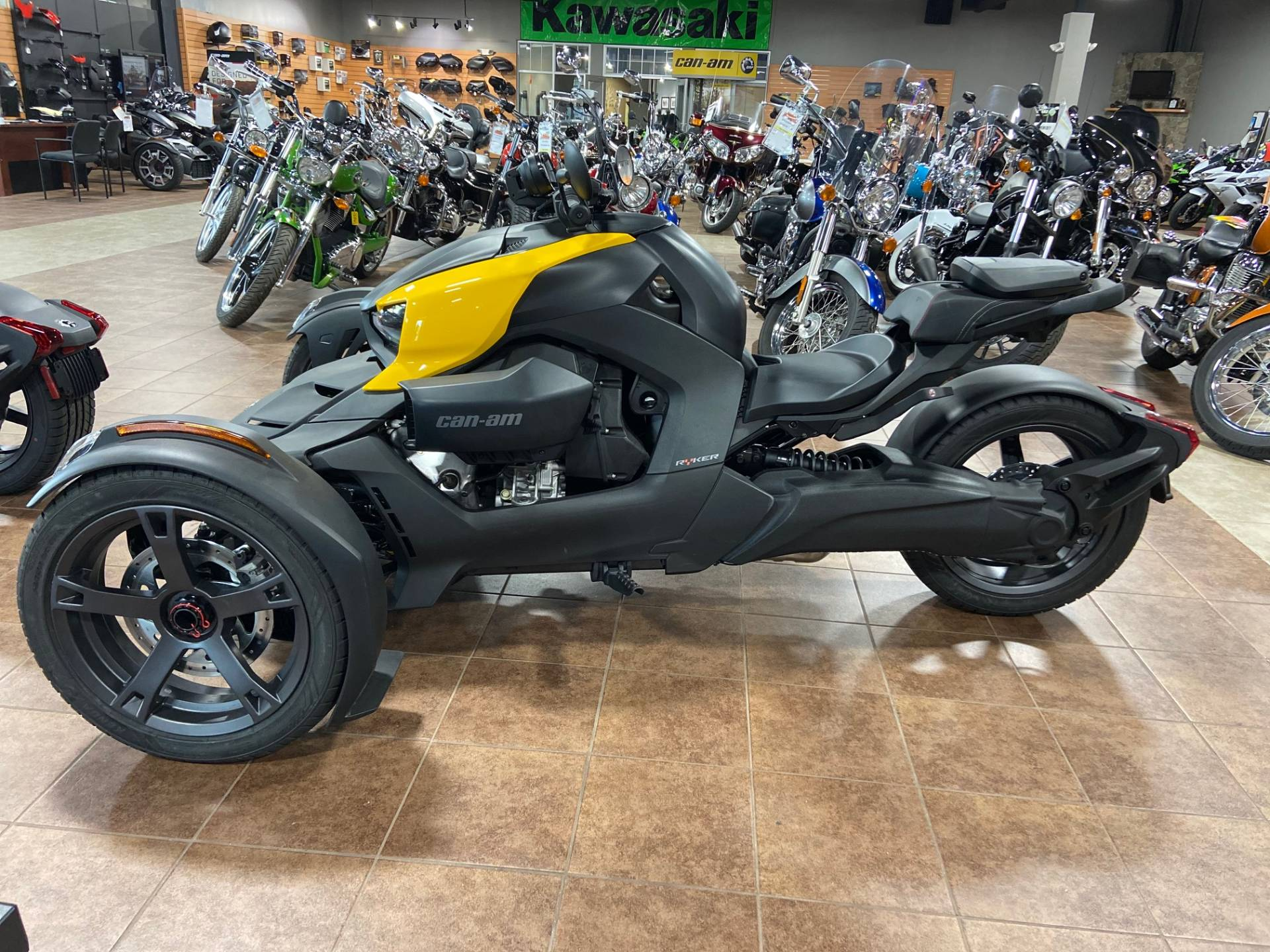 2019 Can-Am Ryker 600 ACE in Barre, Massachusetts - Photo 8
