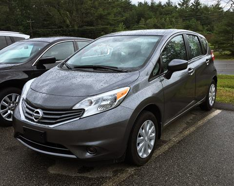 2016 Nissan Versa Note S Plus in Barre, Massachusetts