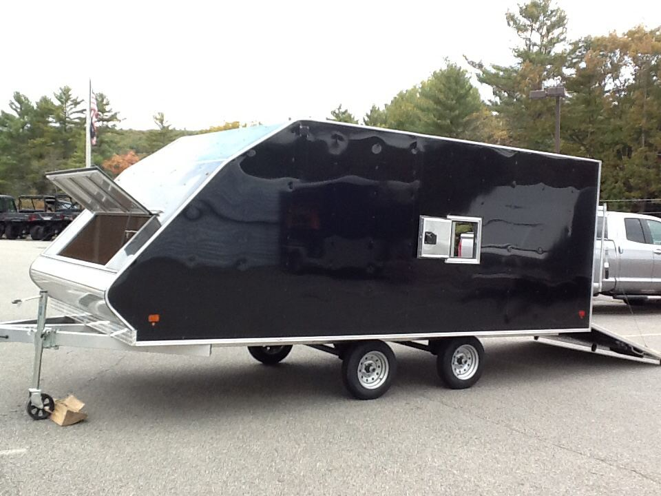 2015 Alcom Trailer HYBRID 7.5X16 SNOW in Barre, Massachusetts