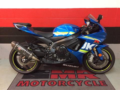 2017 Suzuki GSX-R750 in Asheville, North Carolina