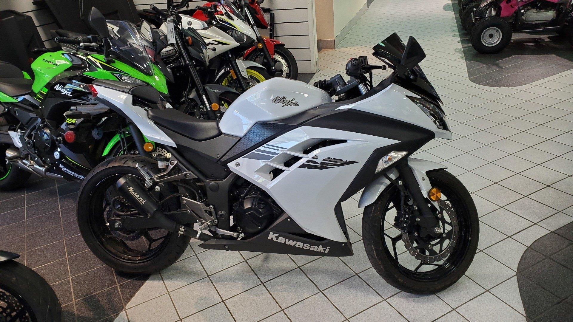 Used 2017 Kawasaki Ninja 300 Motorcycles In Asheville Nc Pearl