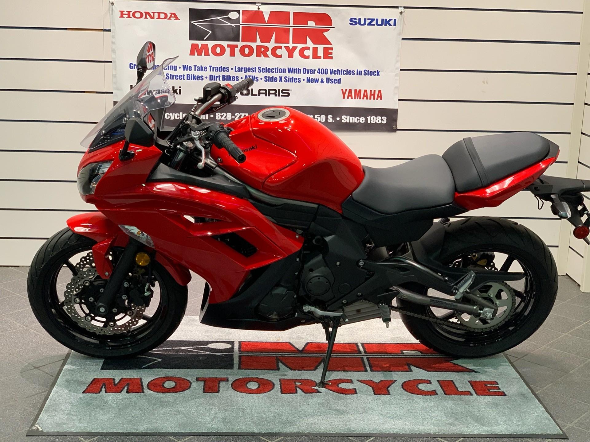 2012 Kawasaki Ninja 650 In Asheville North Carolina