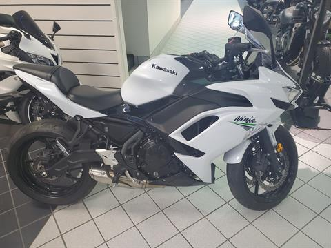 2020 Kawasaki Ninja 650 in Asheville, North Carolina - Photo 1