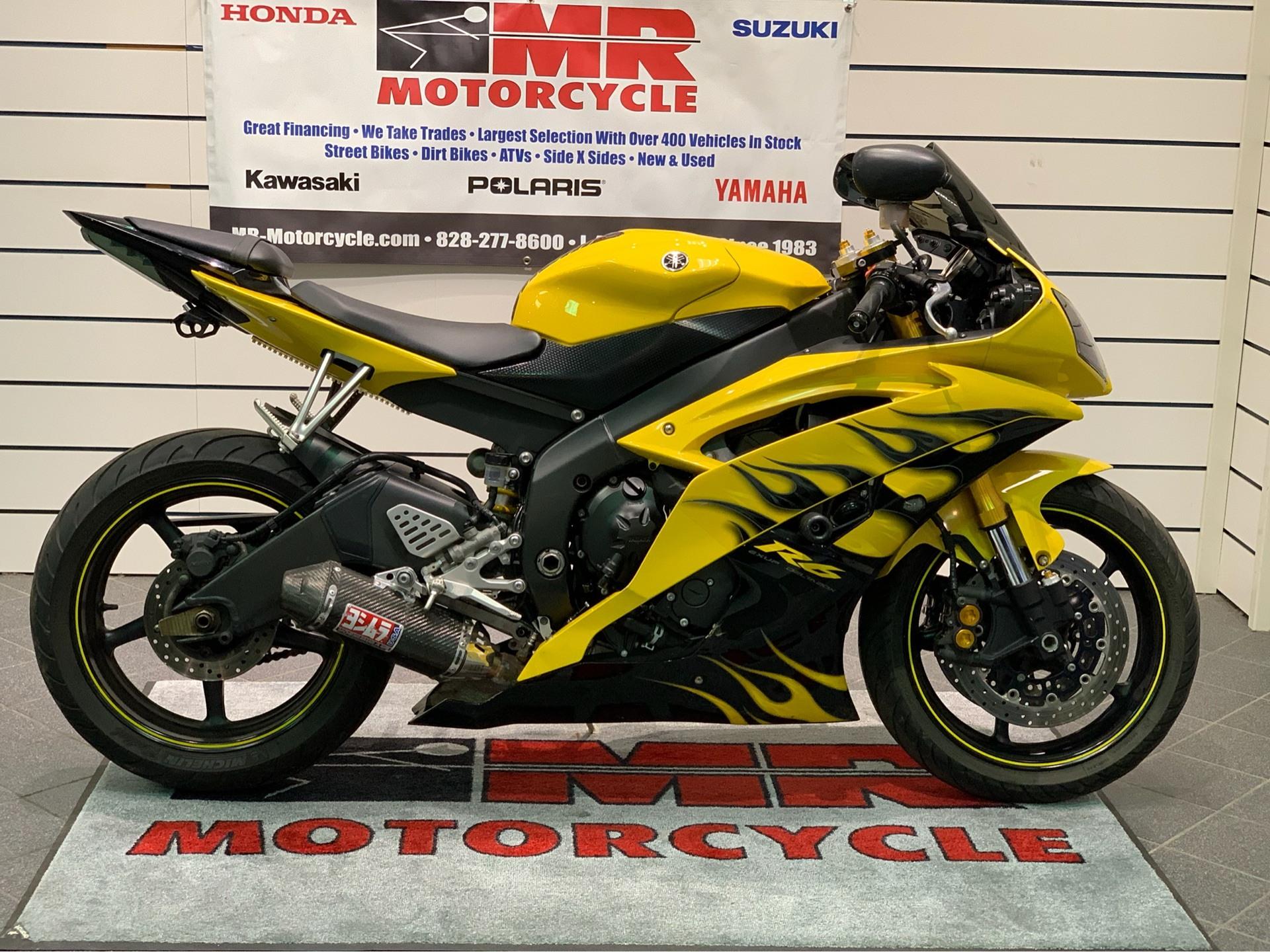 2008 Yamaha YZFR6 1