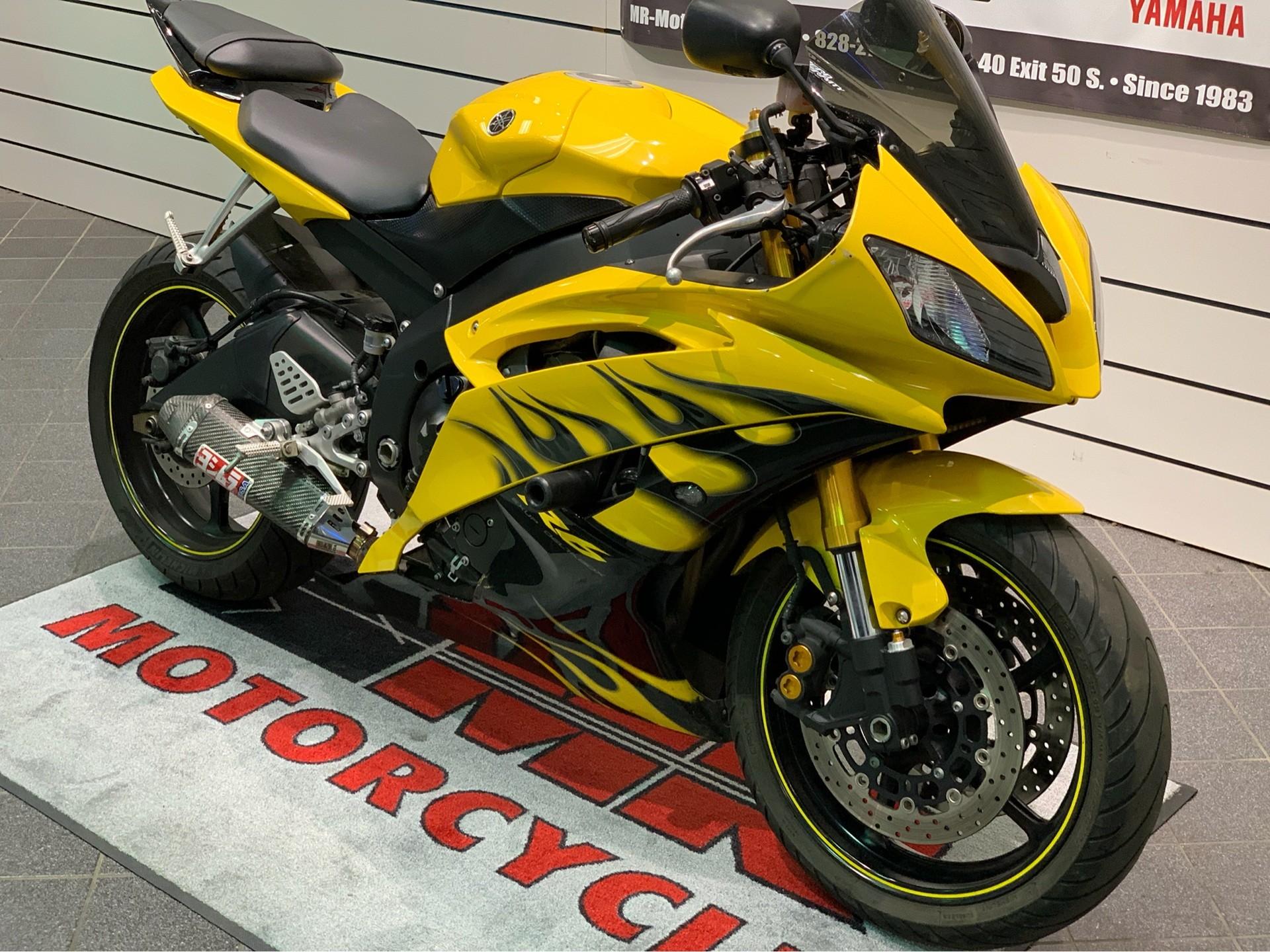 2008 Yamaha YZFR6 8