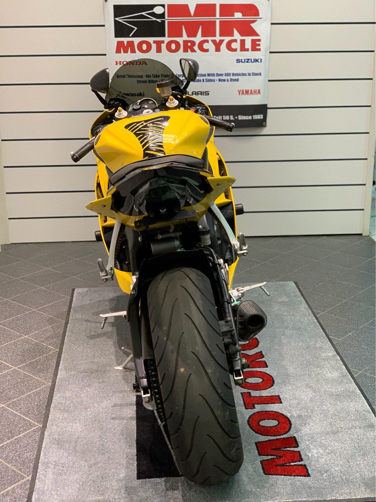 2008 Yamaha YZFR6 3