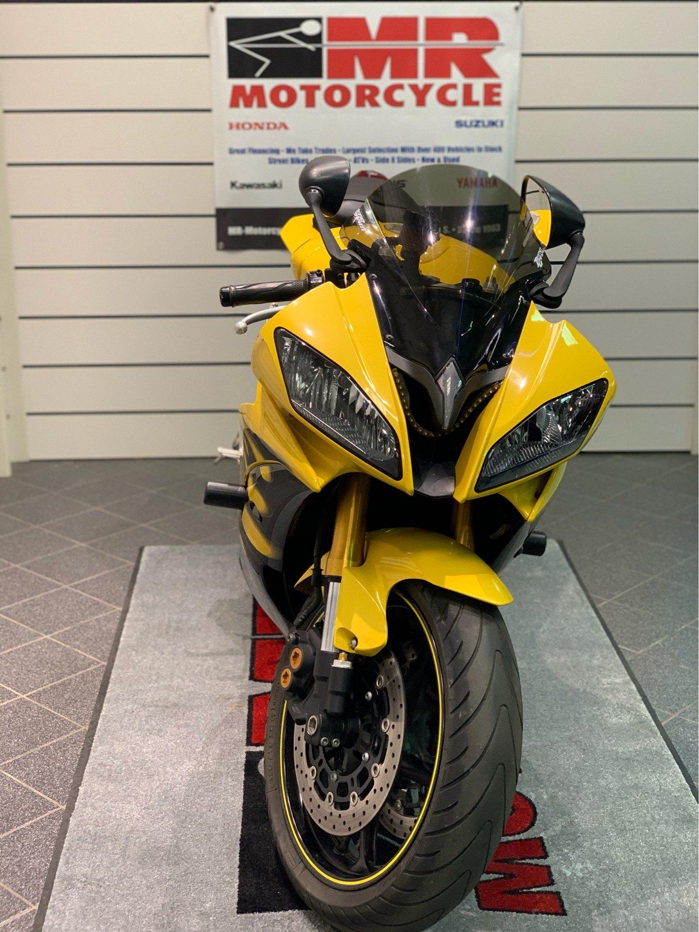 2008 Yamaha YZFR6 7